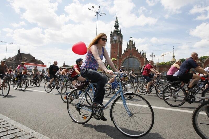 W niedzielę 11 czerwca 2017 roku, w godz. 11 – 14, ulicami Gdańska przejedzie 5 tysięcy osób w Wielkim Przejeździe Rowerowym