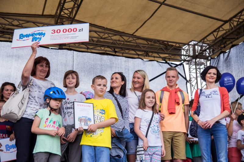 Radość w Szkole Podstawowej nr 12 była chyba największa ze wszystkich. Szkoła z Ujeściska drugi rok z rzędu wygrała 30 tys. zł