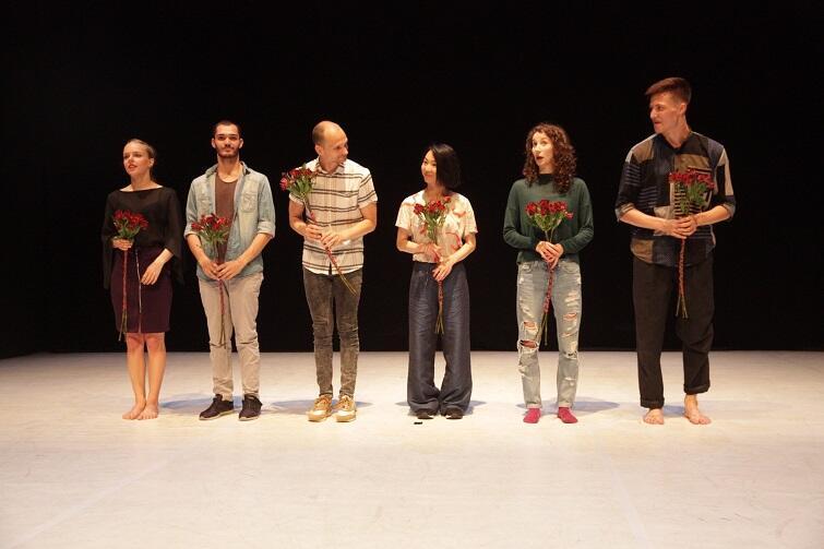 Finaliści konkursu Solo Dance Contest: Agnieszka Janicka, Daniel Morales, Jernej Bizjak, Ruri Mito, Monika Witkowska i Samuli Emery