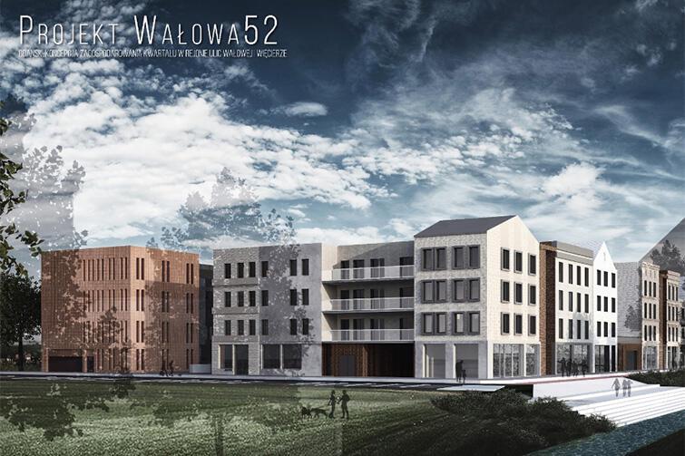 Kwartał Wałowa/Więcierze wg laureatek II miejsca
