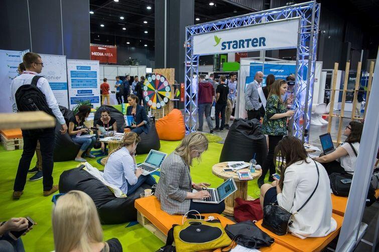 STARTER poszukuje młodych, ambitnych z pomysłami. Stanowisko STARTERA na tegorocznych targach InfoShare w Gdańsku w AmberExpo