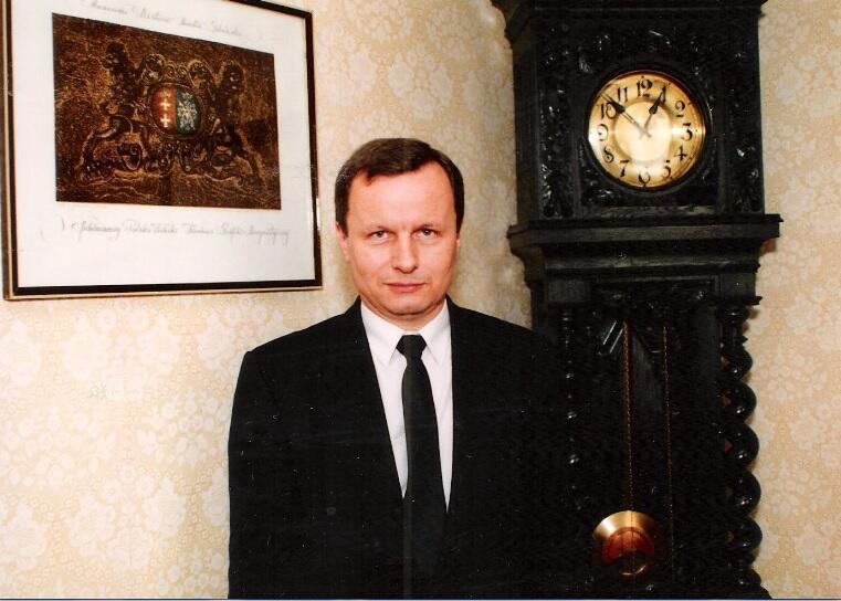 W gabinecie prezydenta Gdańska, lipiec 1990