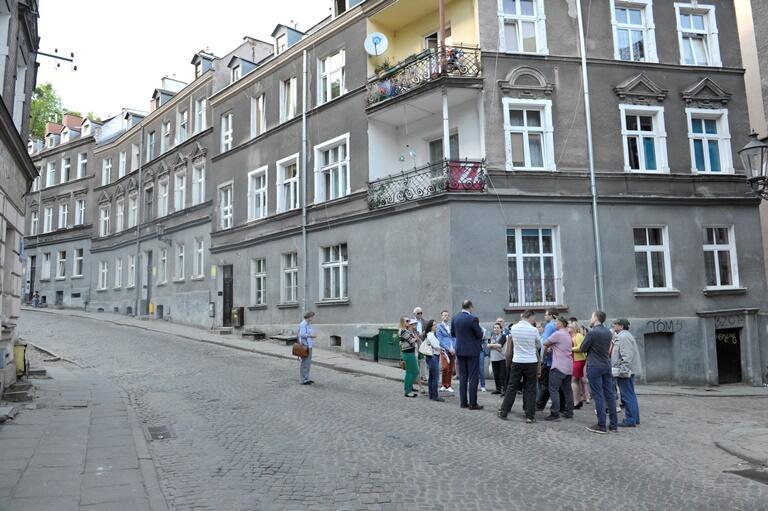 Spacer mieszkańców z prezydentem Pawłem Adamowiczem