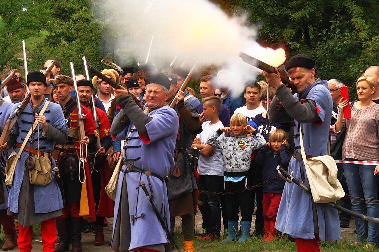 Twierdza Wisłoujście. Inscenizacja Bitwy z 1628 r.