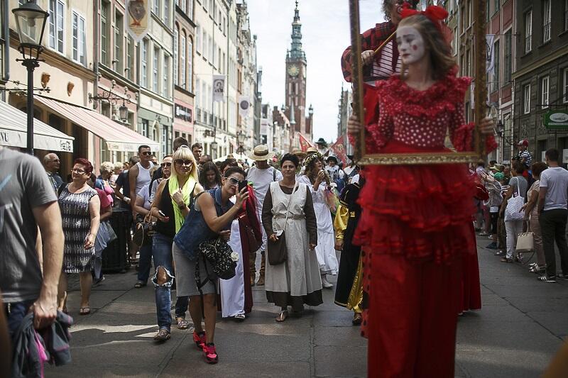 Ceremonia otwarcia Jarmarku św. Dominika przyciąga tłumy, od lat organizuje ją Klub Plama GAK