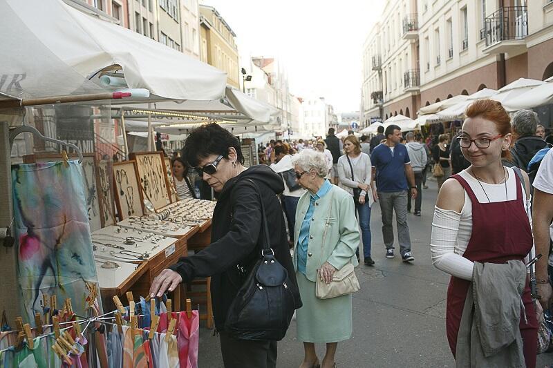 1000 stoisk - jest co oglądać (i kupować) na Jarmarku św. Dominika