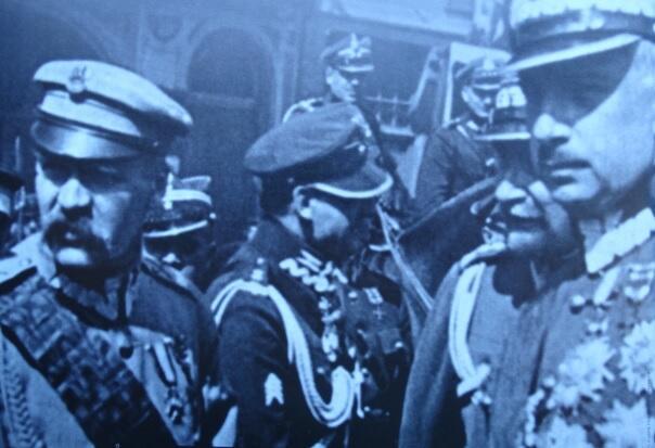 Józef Piłsudski i Kazimierz Sosnkowski w maju 1923 roku