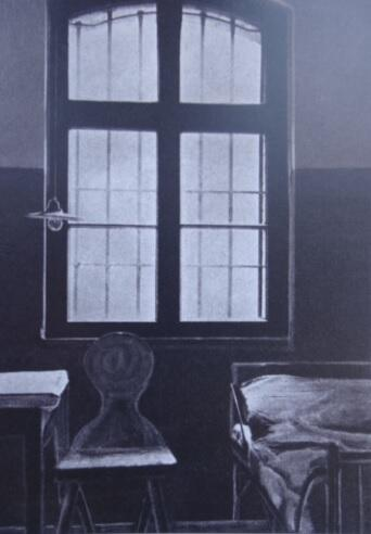 Cela w gdańskim więzieniu, w której prawdopodobnie przebywał Piłsudski, stan z 1935 r.
