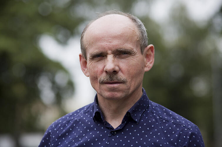 Stanisław Lange - dyrektor Biegu św. Dominika