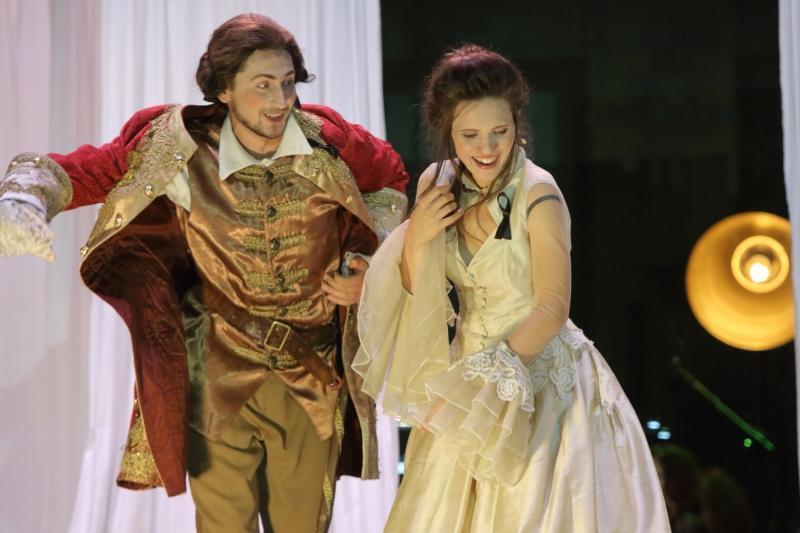 Mozartiana 2016 - Opera La finta semplice, w Parku Oliwskim