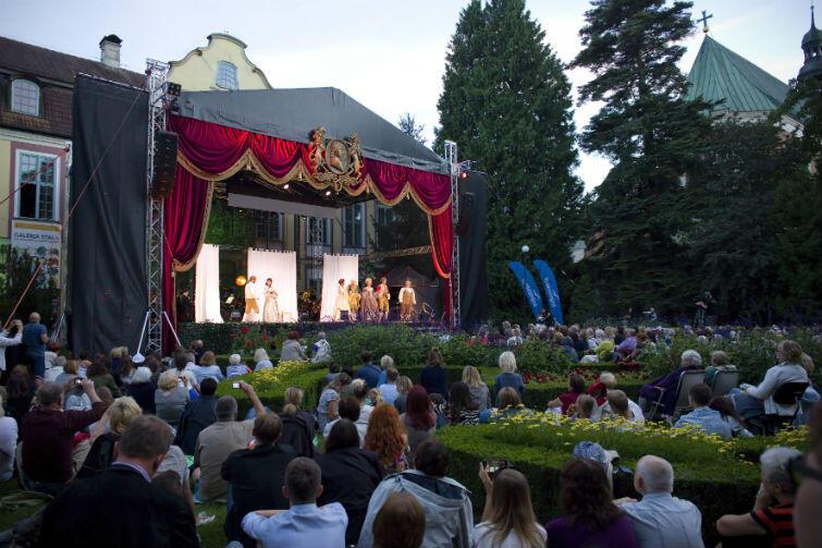 Koncerty w Parku Oliwskim cieszą się dużym zainteresowaniem melomanów