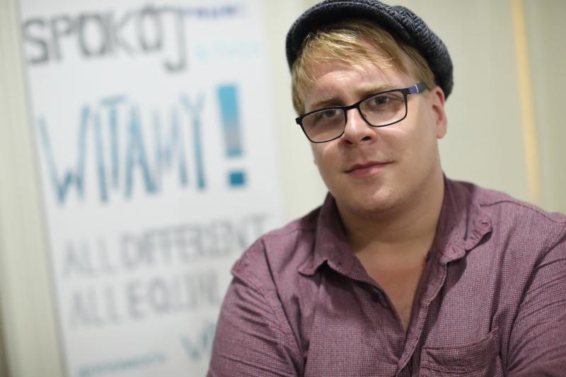 Daniel Fuhl przyjechał na konferencję w Gdańsku z Węgier