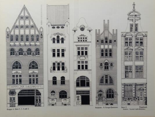 Projekty A. Runge z Hannoweru i Th. Schölla z Wiesbaden