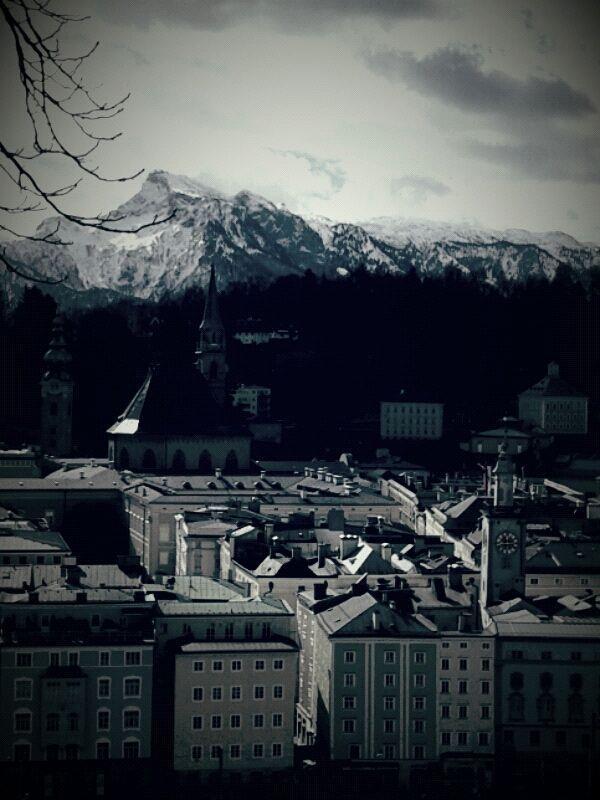 Salzburg - miasto geniusza muzycznego Mozarta