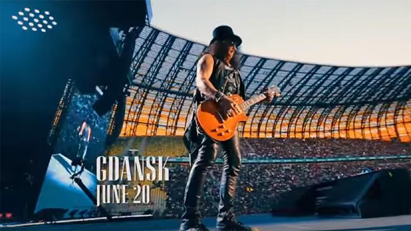 Slash na gdańskim Stadionie