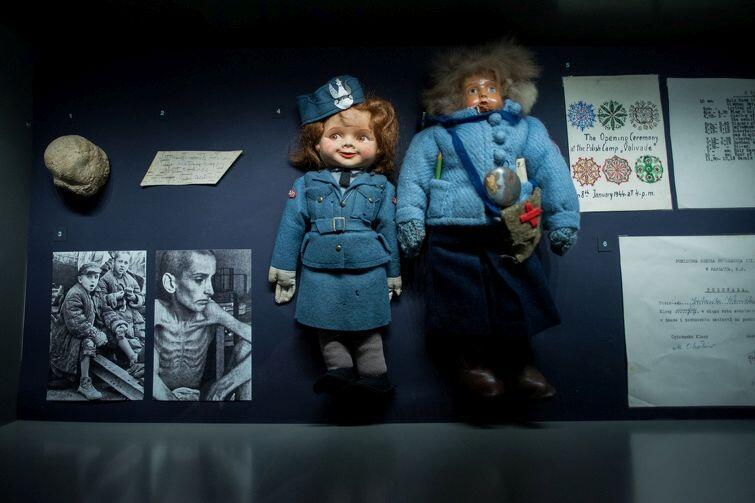 Przerażenie, wzruszenie, szok. Cześć ekspozycji MIIWŚ poświęcona tragicznym losom dzieci w czasie wojny