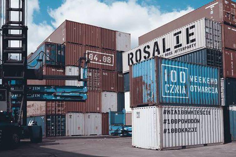 Wydarzenia kulturalne w morskich kontenerach? Dlaczego nie!