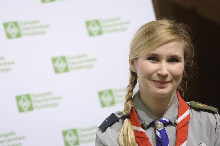 Marta Bednarska z Gdańskiej Chorągwi ZHP
