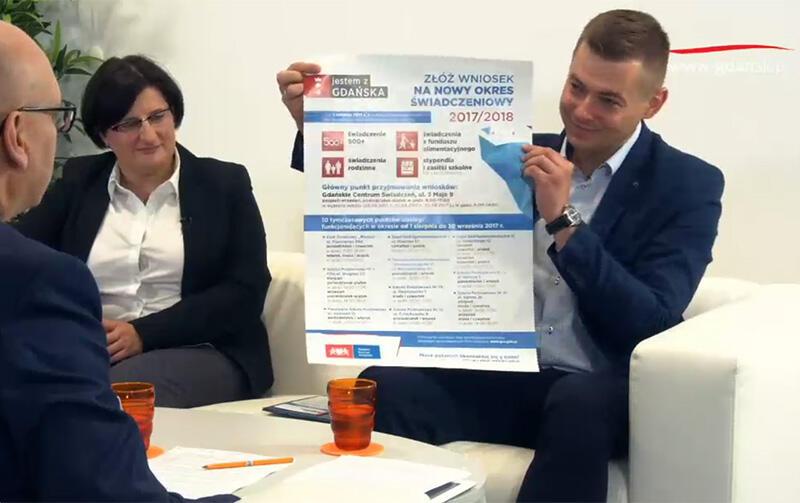 Katarzyna Sowa i Arkadiusz Kulewicz z Gdańskiego Centrum Świadczeń mówili w naszym programie na żywo o składaniu wniosków na świadczenia rodzinne