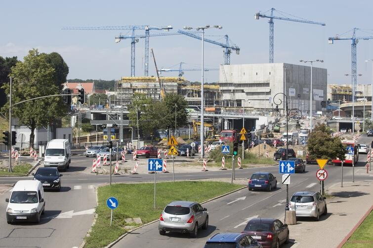 Czwartek, 10 sierpnia, skrzyżowanie ulic Toruńska, Okopowa i Trakt św. Wojciecha