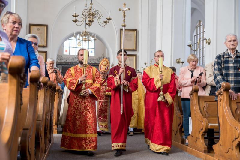 Kościół św. Piotra i Pawła w Gdańsku, msza św. według liturgii ormiańskiej