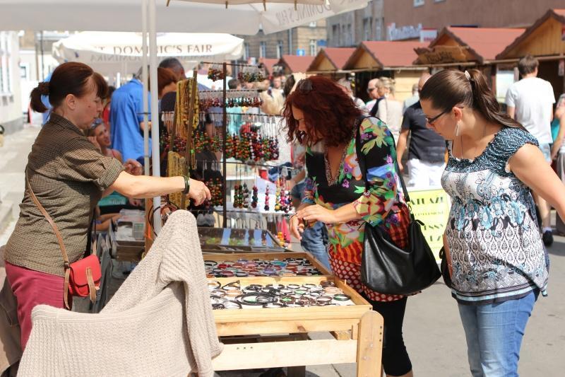 Na czas Jarmarku Św. Dominika do Gdańska ściągają handlowcy i turyści