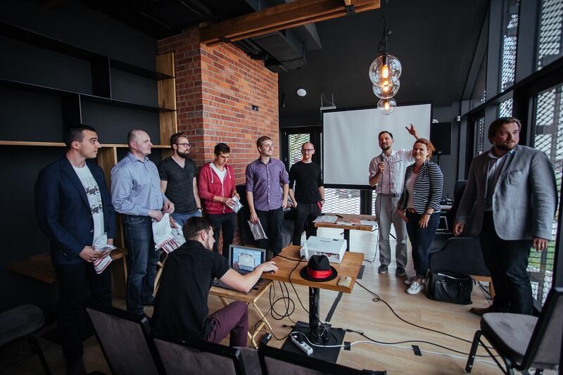Spotkanie młodych przedsiębiorców z tutorami w gdańskim Clipsterze