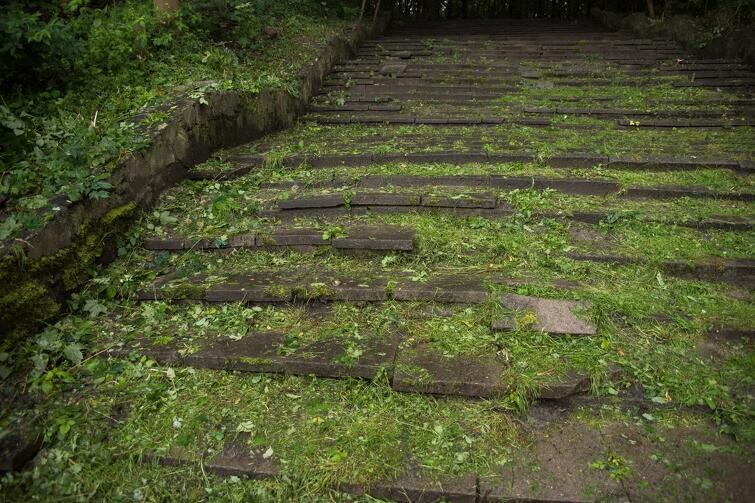 Tu nie ma dyskusji. Do Wroniej Górki muszą prowadzić nowe, bezpieczne i wygodne schody