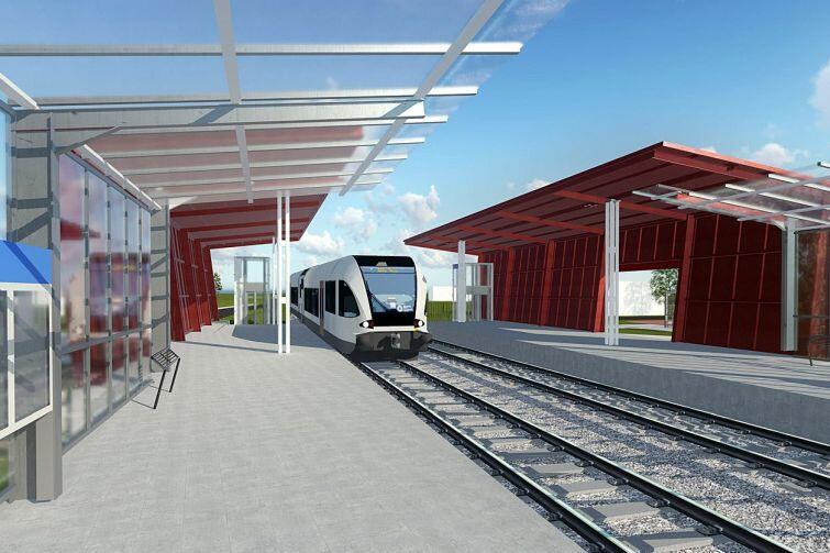 Tak ma wyglądać planowany przystanek Gdańsk Firoga