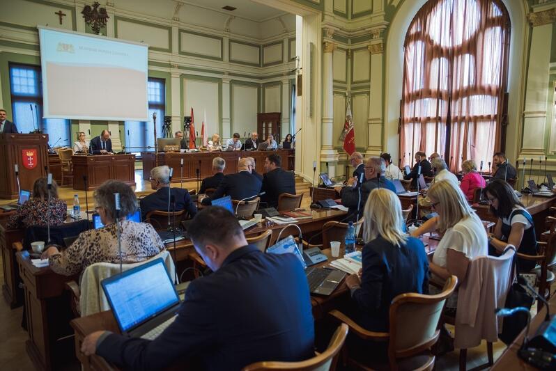 31 sierpnia odbyła się pierwsza powakacyjna sesja Rady Miasta Gdańska