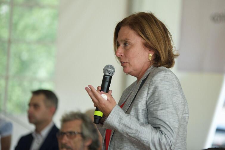 Małgorzata Kidawa- Błońska z PO