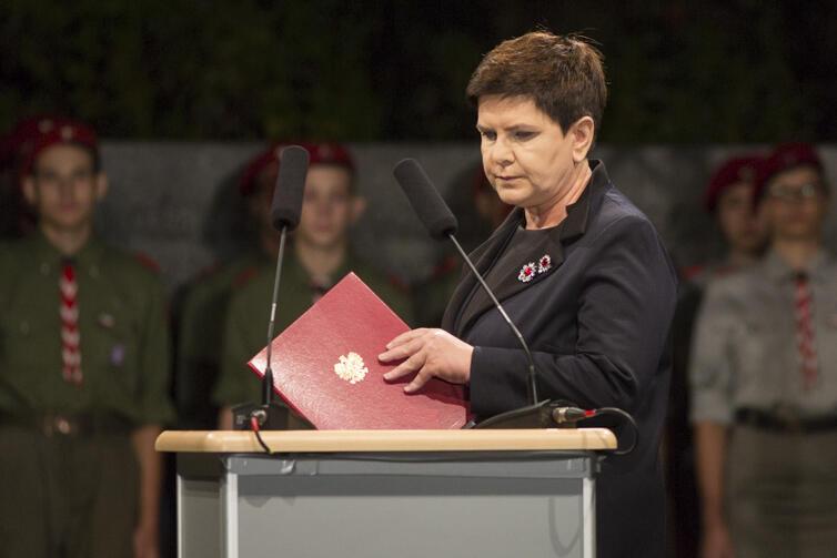 W uroczystości wzięła udział premier Beata Szydło