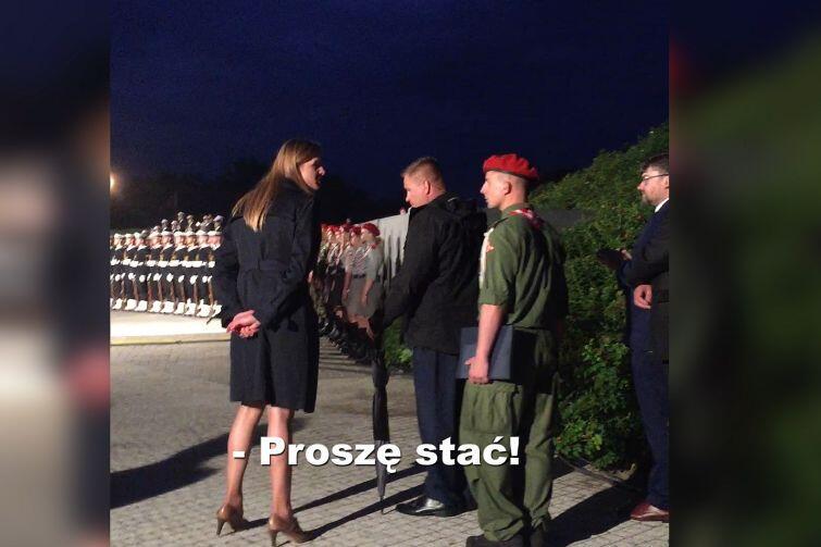 Westerplatte. Incydent przed apelem poległych