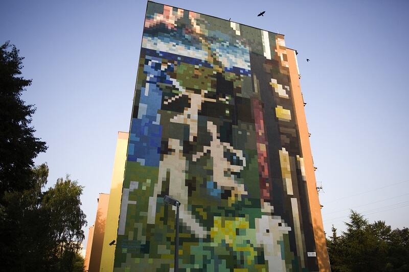 Rok memlinga w gda sku zmru oczy i zobacz nowy mural na for Mural na tamie w solinie