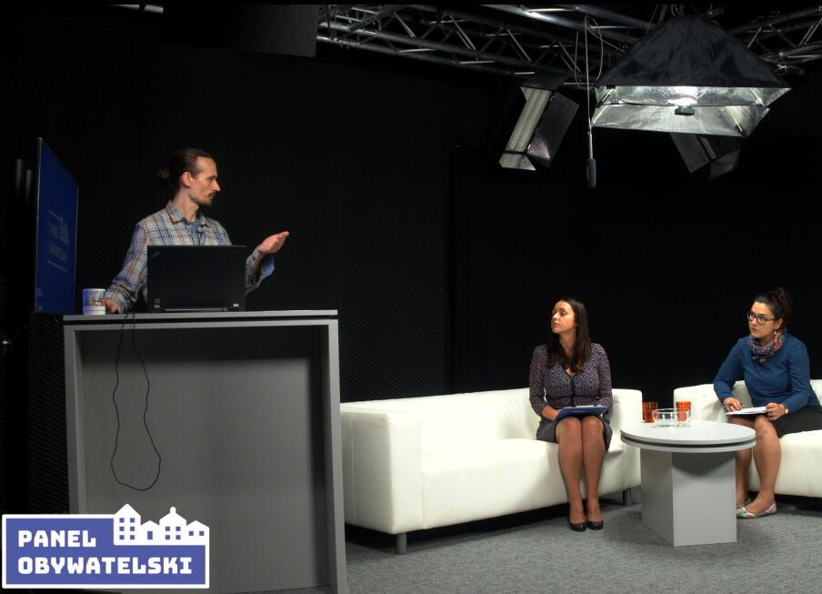 Losowanie panelistów odbyło się w studio gdansk.pl