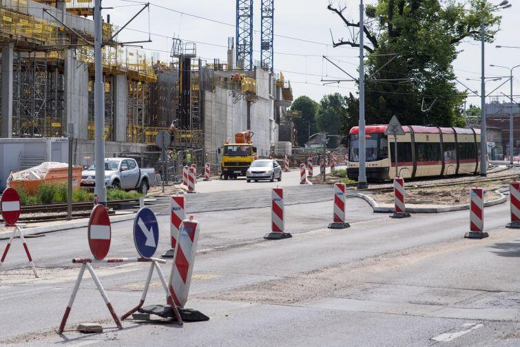 Przebudowa ul. 3 Maja związana jest z powstającym obok Forum Gdańsk