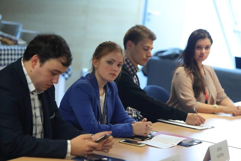 Młodzi Rosjanie i Polacy uczestniczą w projekcie Club of Gdańsk