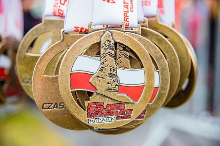 Medale 55. Biegu Westerplatte
