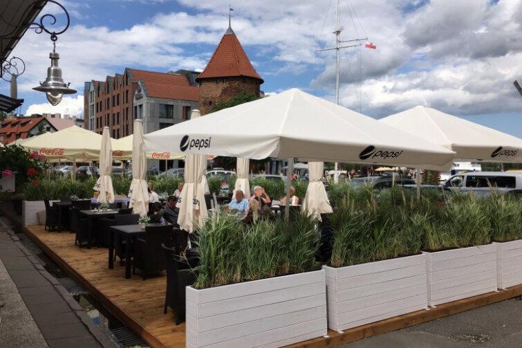 Restauracja FISHMARKT-TARG RYBNY. Zdaniem Komisji Konkursowej najładniejszy ogródek gastronomiczny sezonu 2017