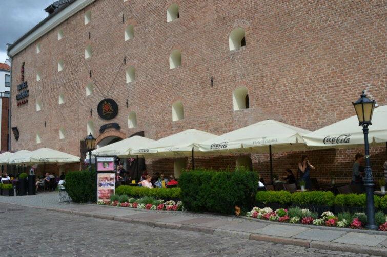 Hotel Brovarnia też miał najładniejszy ogródek gastronomiczny sezonu 2017 - zdaniem internautów
