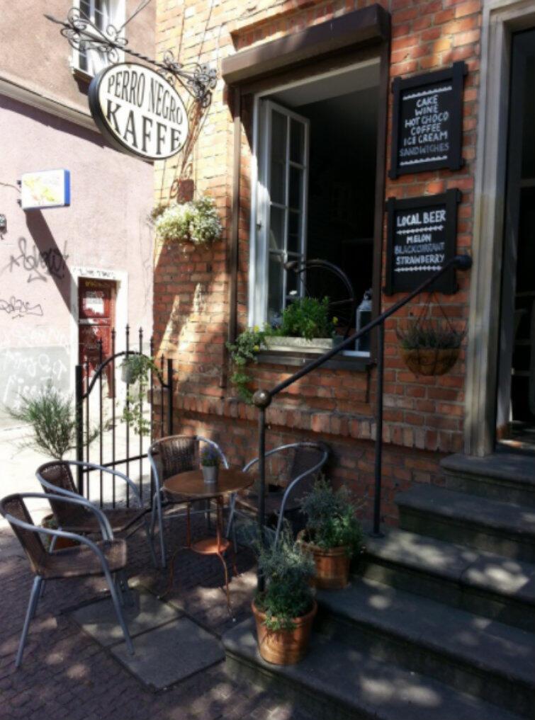 Wyróżnienie od Komisji konkursowej otrzymał także urokliwy ogródek kawiarni Perro Negro