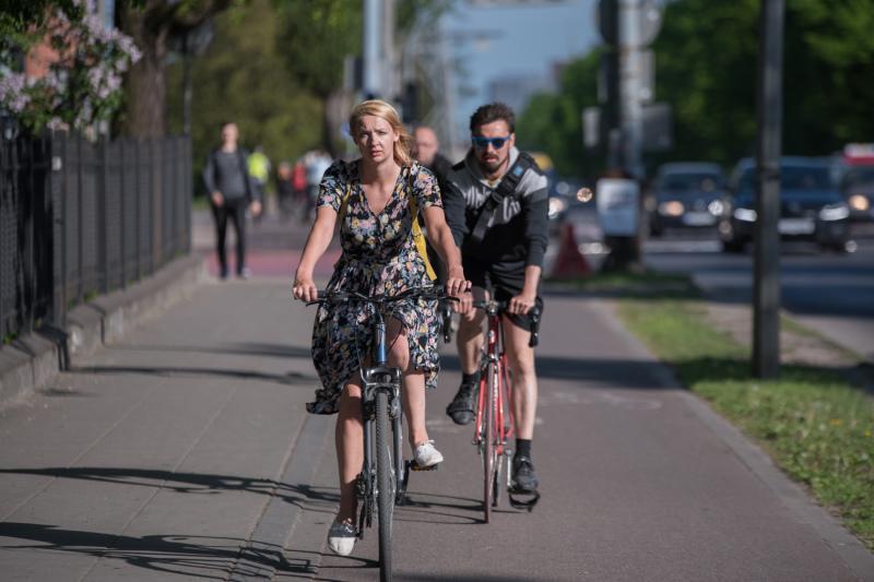 W Gdańsku rower jest coraz bardziej popularnym środkiem lokomocji
