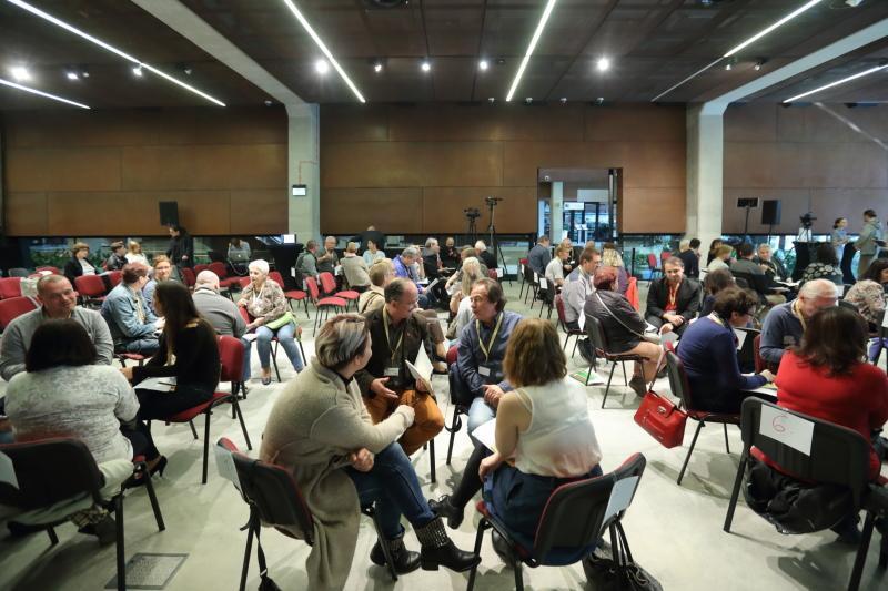 16 września 2017. paneliści obradowali w Europejskim Centrum Solidarności