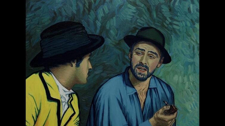 Twój Vincent został nakręcony jako film aktorski, a następnie każda klatka została ręcznie przemalowana