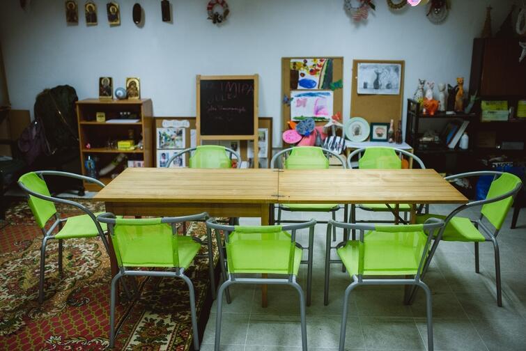 Przed rokiem w Pieckach - Migowie, w budynku przychodni, otwarto Dom Sąsiedzki. Miejsce to potrzebuje jednak doinwestowania m.in. w sprzęt