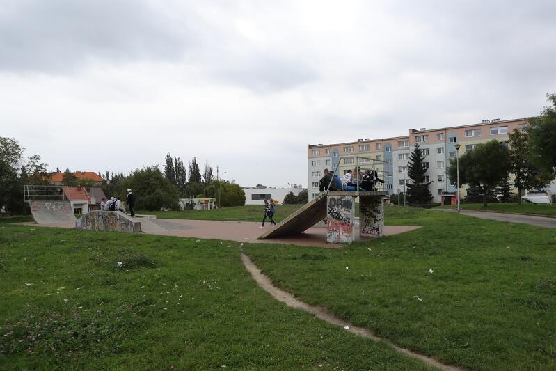 Mieszkańcy Suchanina proponują w ramach Budżetu Obywatelskiego budowę nowego placu zabaw przy ul. Kamieńskiego