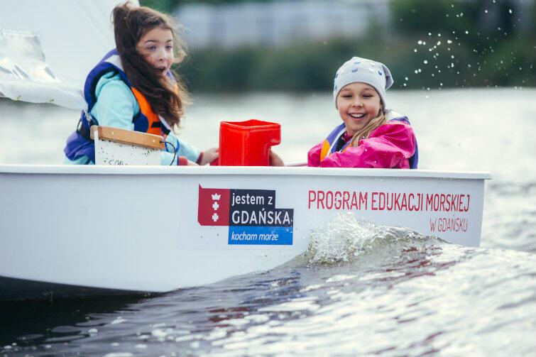 Program Edukacji Morskiej to dla tysięcy młodych gdańszczan miła przygoda i zachęta, by wrócić na wodę