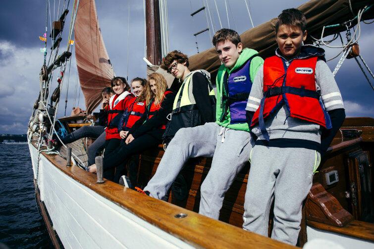 A jeśli młodych na wodę nie ciągnie? Pozostaną miłe wspomnienia z udziału w gdańskim Programie Edukacji Morskiej
