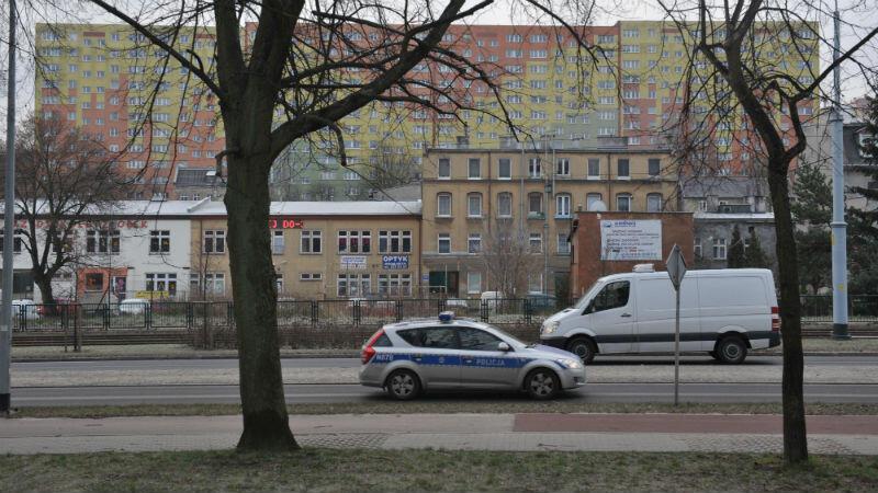 Ulica Kartuska. Jedna z ulic położonych na południe od niej będzie nosiła imię Krzysztofa Komedy