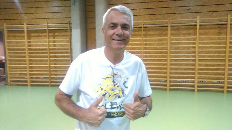 Andrea Anastasi cieszy się, że drużyna z Gdańska przetrwała